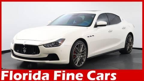 2017 Maserati Ghibli for sale at Florida Fine Cars - West Palm Beach in West Palm Beach FL
