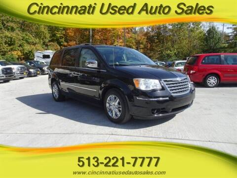 2010 Chrysler Town and Country for sale at Cincinnati Used Auto Sales in Cincinnati OH