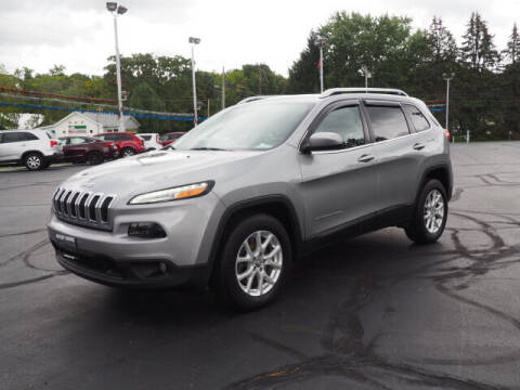 2015 Jeep Cherokee for sale at Patriot Motors in Cortland OH