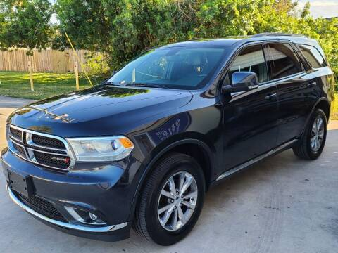 2015 Dodge Durango for sale at O & J Auto Sales in Royal Palm Beach FL