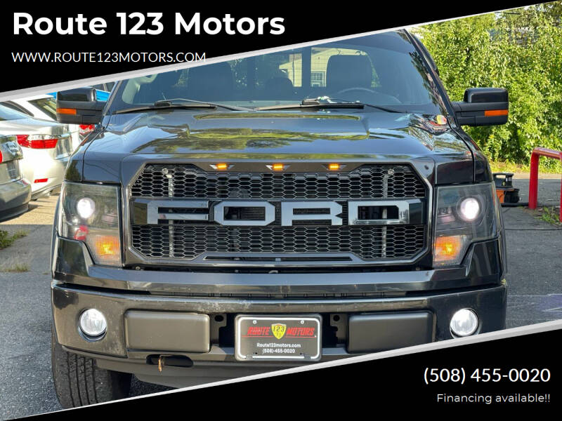 2013 Ford F-150 for sale at Route 123 Motors in Norton MA