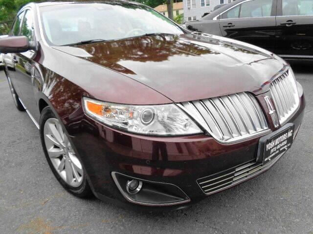 2009 Lincoln MKS for sale at Yosh Motors in Newark NJ