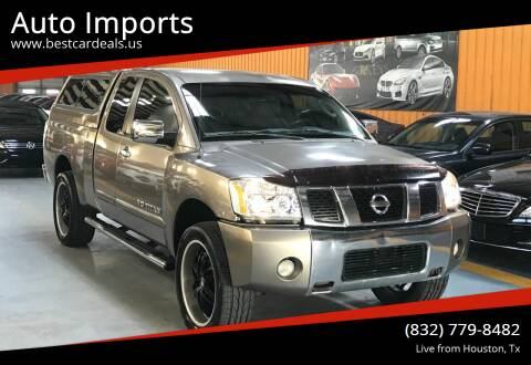 2006 Nissan Titan for sale at Auto Imports in Houston TX