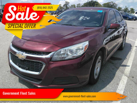 2016 Chevrolet Malibu Limited for sale at Government Fleet Sales in Kansas City MO