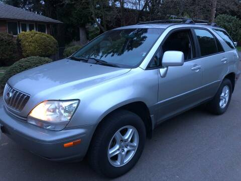 2001 Lexus RX 300 for sale at Blue Line Auto Group in Portland OR