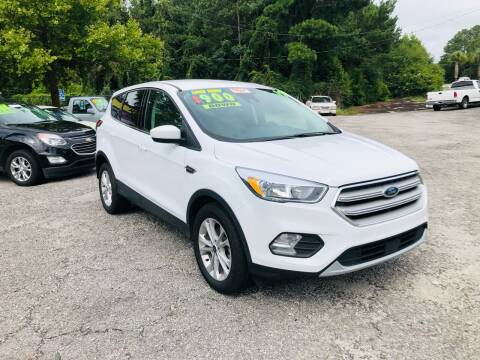 2019 Ford Escape for sale at Capital Car Sales of Columbia in Columbia SC