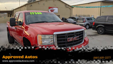 2009 GMC Sierra 2500HD for sale at Approved Autos in Bakersfield CA