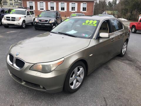 2006 BMW 5 Series for sale at McNamara Auto Sales - Hanover Lot in Hanover PA