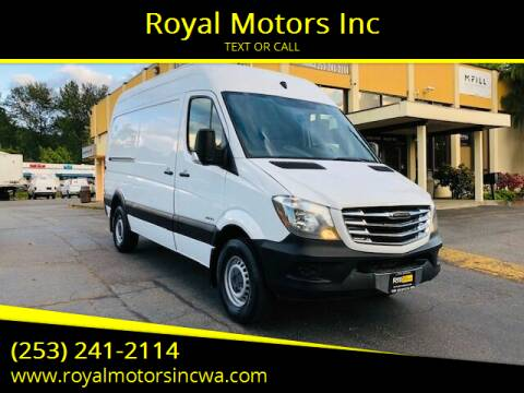 2014 Freightliner Sprinter Cargo for sale at Royal Motors Inc in Kent WA