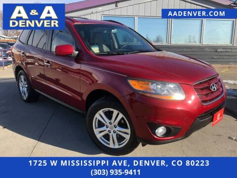 2011 Hyundai Santa Fe for sale at A & A AUTO LLC in Denver CO