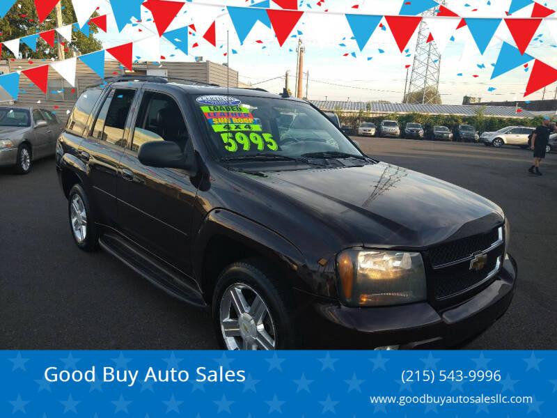 2008 Chevrolet TrailBlazer for sale at Good Buy Auto Sales in Philadelphia PA