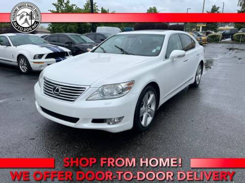 2010 Lexus LS 460 for sale at Auto 206, Inc. in Kent WA