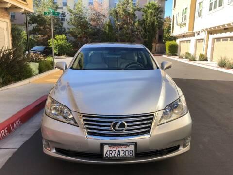 2011 Lexus ES 350 for sale at Hi5 Auto in Fremont CA
