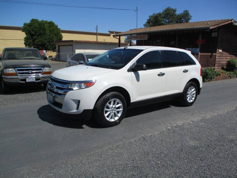 2013 Ford Edge for sale at Manzanita Car Sales in Gridley CA
