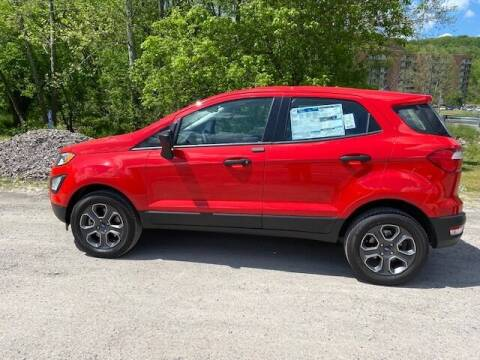 2021 Ford EcoSport for sale at WESTON FORD  INC in Weston WV