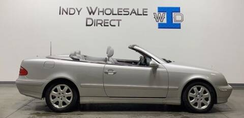 2003 Mercedes-Benz CLK for sale at Indy Wholesale Direct in Carmel IN