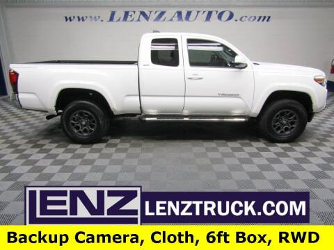 2018 Toyota Tacoma for sale at LENZ TRUCK CENTER in Fond Du Lac WI