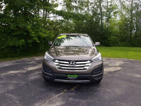 2014 Hyundai Santa Fe Sport for sale at L & R Motors in Greene ME