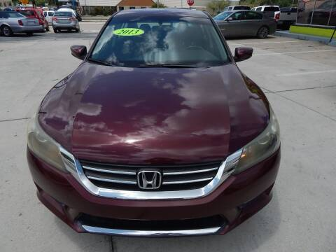 2013 Honda Accord for sale at Auto Outlet of Sarasota in Sarasota FL