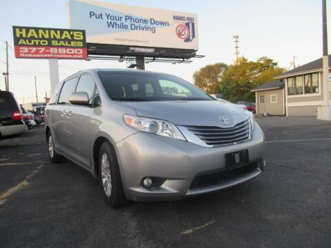 2015 Toyota Sienna for sale at Hanna's Auto Sales in Indianapolis IN