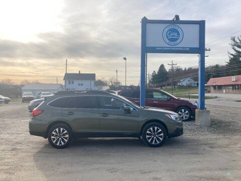 2015 Subaru Outback for sale at Corry Pre Owned Auto Sales in Corry PA
