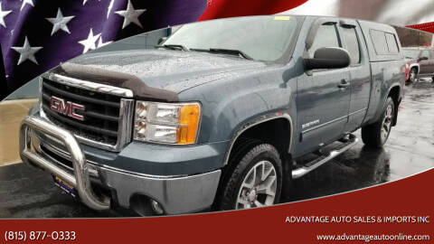 2010 GMC Sierra 1500 for sale at Advantage Auto Sales & Imports Inc in Loves Park IL