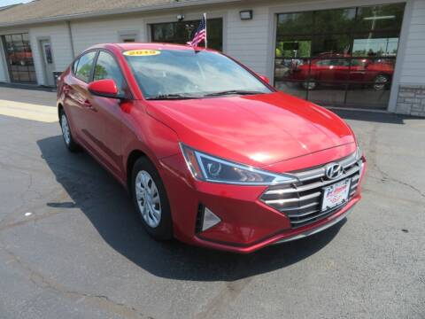 2019 Hyundai Elantra for sale at Tri-County Pre-Owned Superstore in Reynoldsburg OH