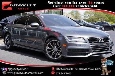 2014 Audi A7 for sale at Gravity Autos Roswell in Roswell GA
