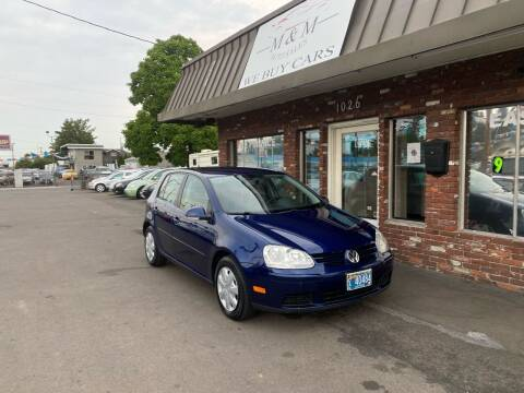 2007 Volkswagen Rabbit for sale at M&M Auto Sales in Portland OR