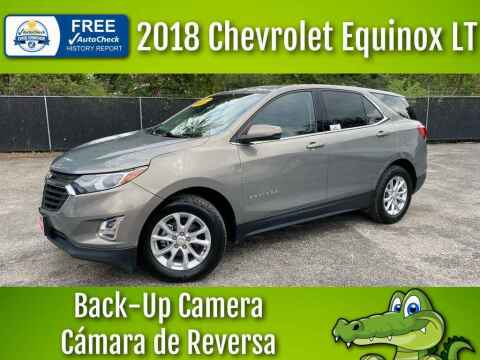 2018 Chevrolet Equinox for sale at LIQUIDATORS in Houston TX