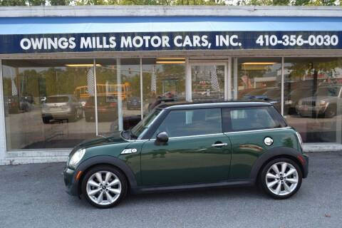 2011 MINI Cooper for sale at Owings Mills Motor Cars in Owings Mills MD