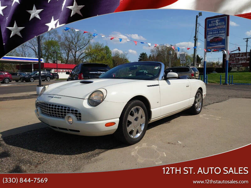 2002 Ford Thunderbird for sale at 12th St. Auto Sales in Canton OH