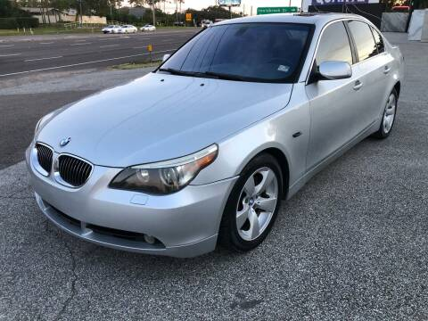 2007 BMW 5 Series for sale at Low Price Auto Sales LLC in Palm Harbor FL