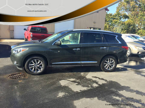 2013 Infiniti JX35 for sale at Ultra Auto Sales, LLC in Cumberland RI