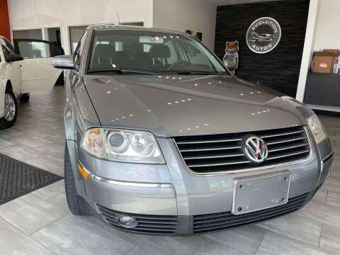2002 Volkswagen Passat for sale at Evolution Autos in Whiteland IN