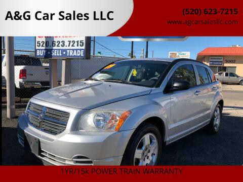 2009 Dodge Caliber for sale at A&G Car Sales  LLC in Tucson AZ