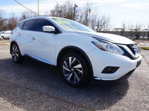 2015 Nissan Murano for sale at BLUE RIBBON MOTORS in Baton Rouge LA