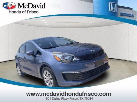 2016 Kia Rio for sale at DAVID McDAVID HONDA OF IRVING in Irving TX