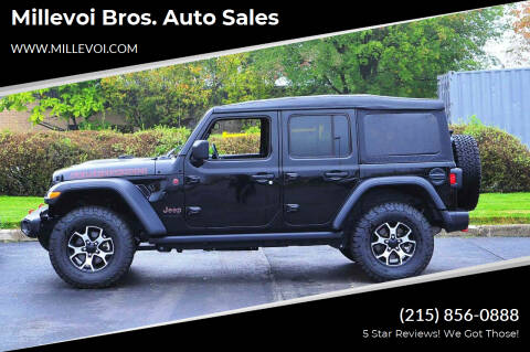 2021 Jeep Wrangler Unlimited for sale at Millevoi Bros. Auto Sales in Philadelphia PA
