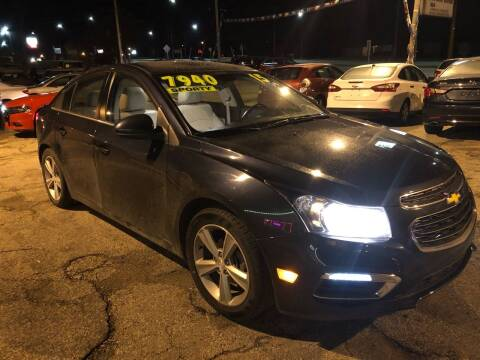 2015 Chevrolet Cruze for sale at Wyss Auto in Oak Creek WI