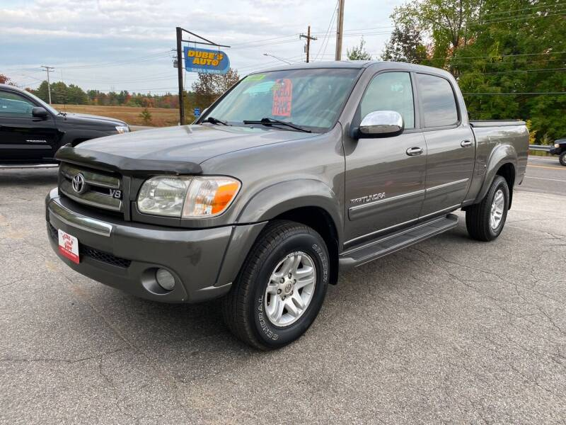 2006 Toyota Tundra for sale at Dubes Auto Sales in Lewiston ME