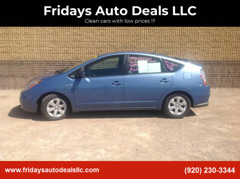 2007 Toyota Prius for sale at Fridays Auto Deals LLC in Oshkosh WI