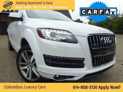 2013 Audi Q7 for sale at Columbus Luxury Cars in Columbus OH
