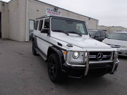 2018 Mercedes-Benz G-Class for sale at ACH AutoHaus in Dallas TX