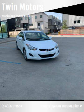 2011 Hyundai Elantra for sale at Twin Motors in Austin TX