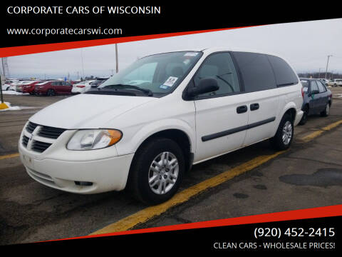 2007 Dodge Grand Caravan for sale at CORPORATE CARS OF WISCONSIN - DAVES AUTO SALES OF SHEBOYGAN in Sheboygan WI