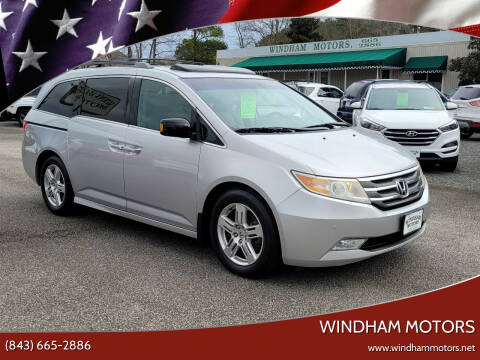 2011 Honda Odyssey for sale at Windham Motors in Florence SC