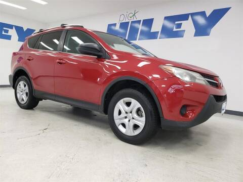 2013 Toyota RAV4 for sale at HILEY MAZDA VOLKSWAGEN of ARLINGTON in Arlington TX