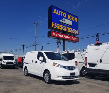 2017 Nissan NV200 for sale at Auto Icon in Houston TX