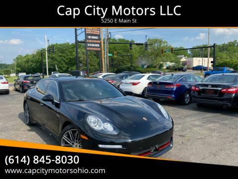2014 Porsche Panamera for sale at Cap City Motors LLC in Columbus OH